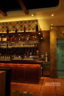 巴西烤肉店设计-深圳圣多斯巴西烤肉西餐厅室内装修设计实景照片壹海城店